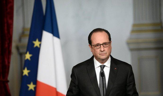 Francouzský prezident François Hollande