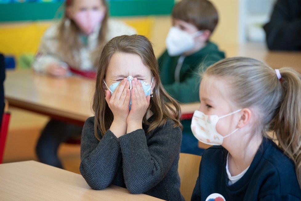 Testování dětí v českých školách (duben 2021)