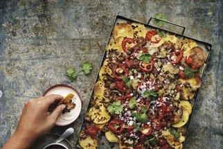 Mexické recepty s chutí Texasu: Vyzkoušejte tacos s trhaným masem, závitky chimichangas i nachos s hovězím