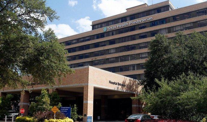 Texas Health Presbyterian Hospital, kde mají už druhý případ eboly (12. října 2014)