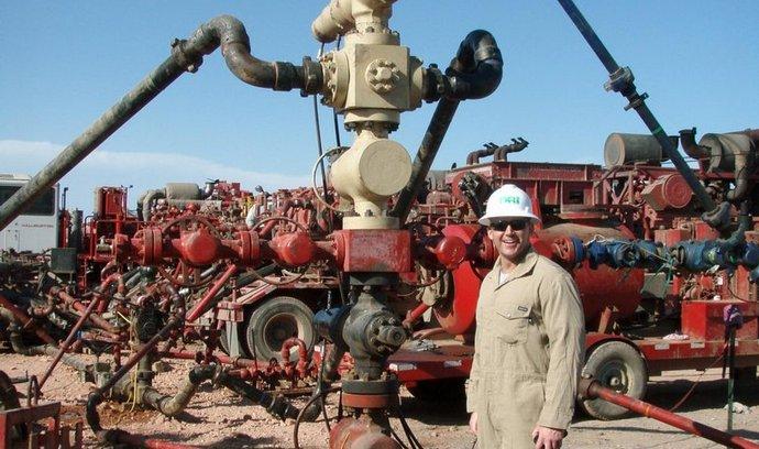 Těžba surovin pomocí frakování