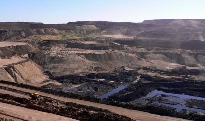 Těžba uhlí (ilustrační foto)