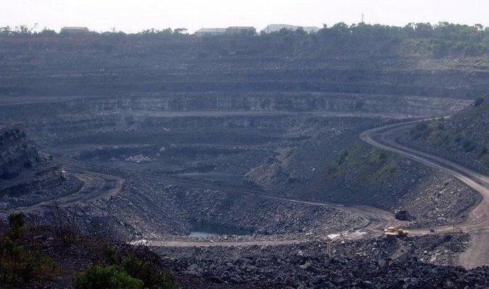 Těžba uhlí v Indii