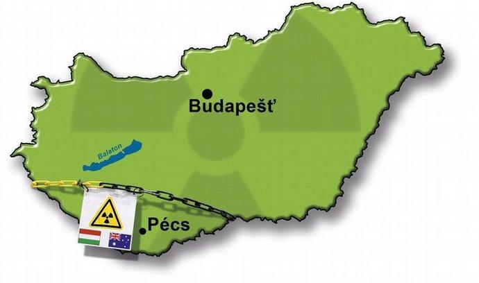 těžba uranu v Maďarsku