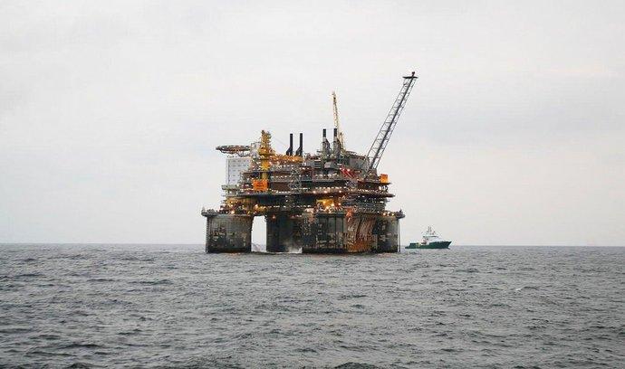 Těžební plošina Statoilu Troll B