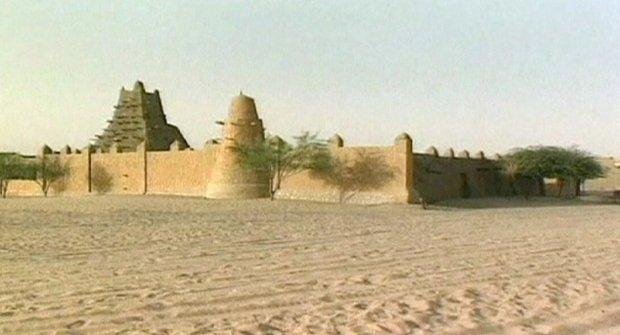 Zničené památky Timbuktu