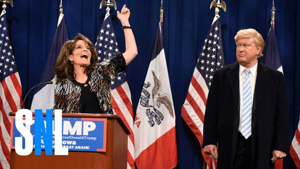 Tina Fey jako Sarah Palin