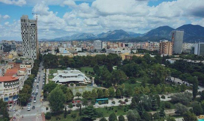 Tirana, Albánie,