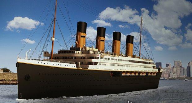 Číňané staví dvě repliky Titaniku