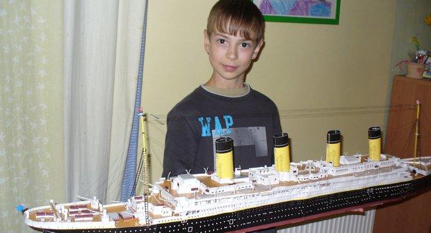 Model Titaniku v (takřka) životní velikosti