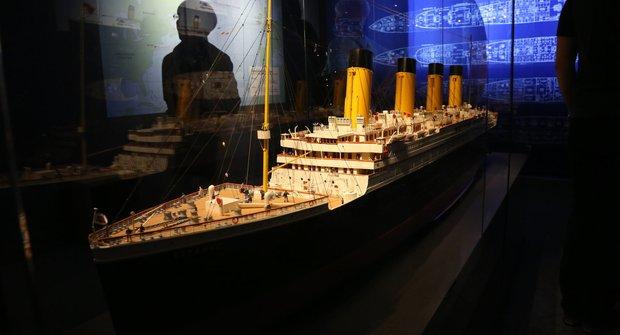 Světová výstava Titanic připlouvá do Prahy!
