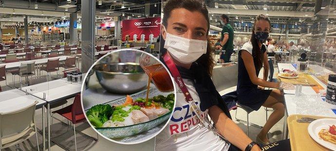 Jak probíhá stolování v jídelně olympijské vesnice? Detaily prozradila atletka Kristiina Mäki