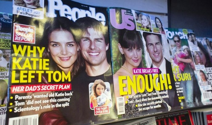 Tom Cruise a Katie Holmesová se rozcházejí