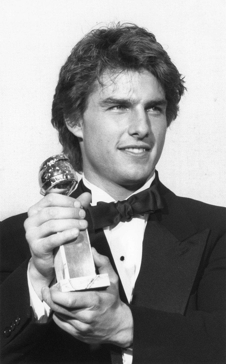 Tom Cruise se Zlatým glóbem