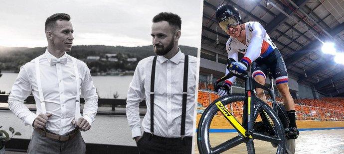 Český dráhový cyklista Tomáš Bábek pojede pro tragicky zesnulého bratra.