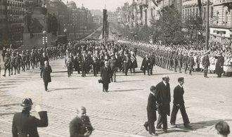 OBRAZEM: Od pohřbu prezidenta Masaryka uběhlo 84 let