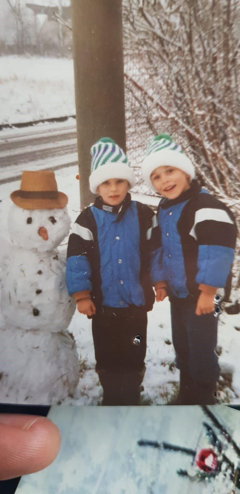 V dětství byli Jakub (vlevo) a Roman k nerozeznání.