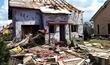 Dům Pavla Číže (53) v obci Hrušky zdemolovalo tornádo.