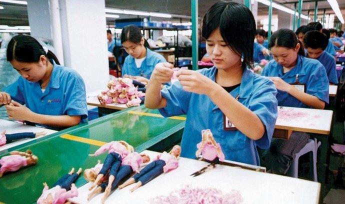 továrna, Čína