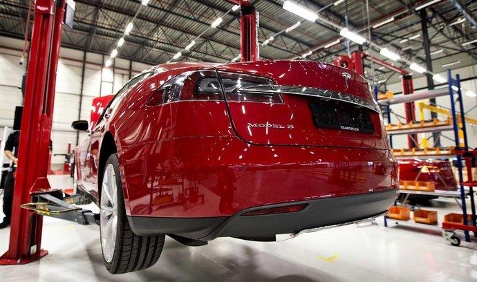 Továrna Tesla Motors