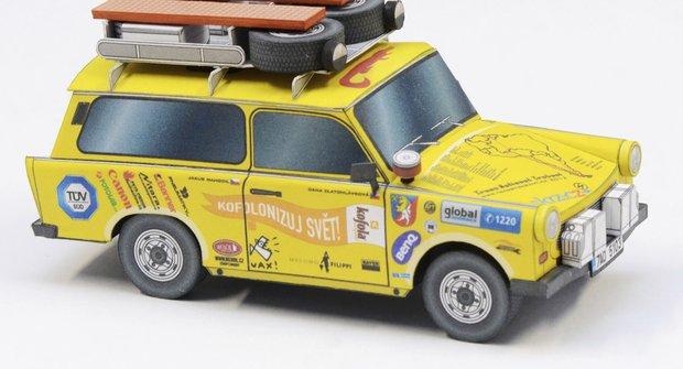 Automobily: Expediční trabant EGU