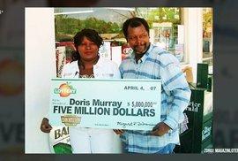 Nejtragičtější vítězka loterie: Vyhrála přes 100 milionů a chtěla opustit přítele.…