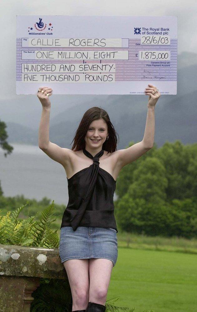 Britce Callie Rogers bylo teprve 16 let, když vyhrála v přepočtu 50 milionů korun.