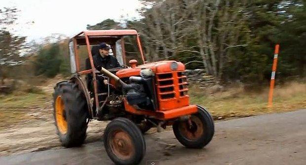 Úlet! Závodní traktor Volvo teror!