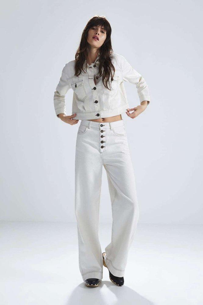 Bunda, 599 Kč, kalhoty, 599 Kč, obojí Zara