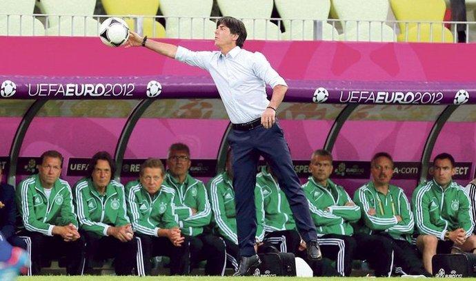 Trenér německého týmu Joachim Löw