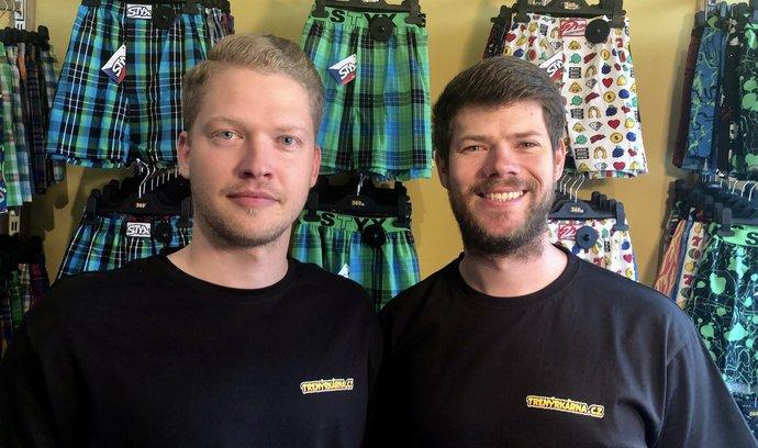 Ruslan Skopal a Adam Rožánek, spolumajitelé Trenýrkárna.cz a Styx