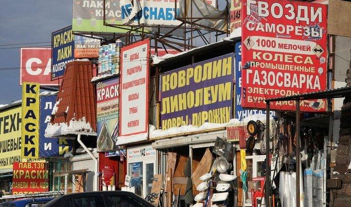 Trh v Moskvě, ilustrační foto