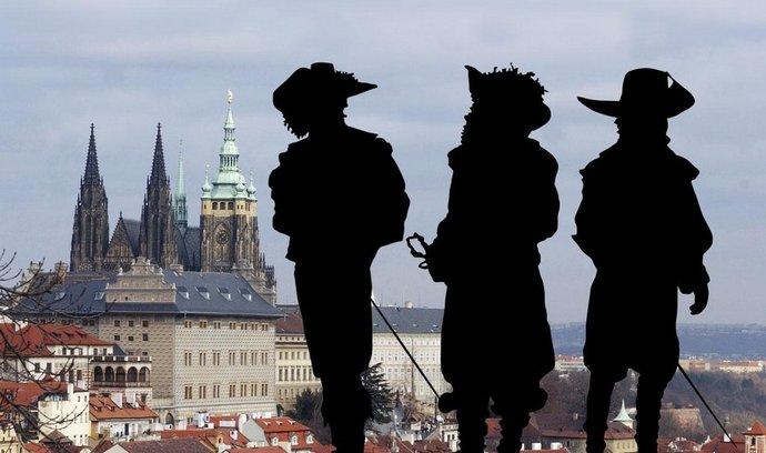 Tři mušketýři v Praze