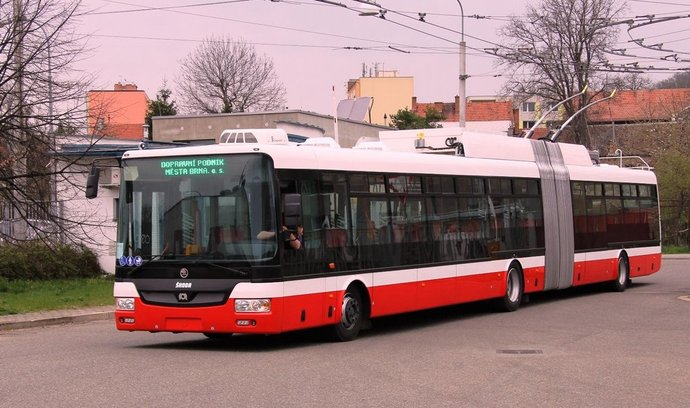 Trolejbus Škoda 31Tr SOR