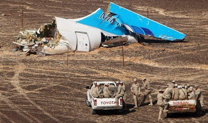 Trosky ruského letounu