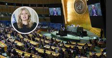 Truchlící Čaputová řešila v OSN selhání. Biden urgoval spolupráci kvůli očkování i klimatu