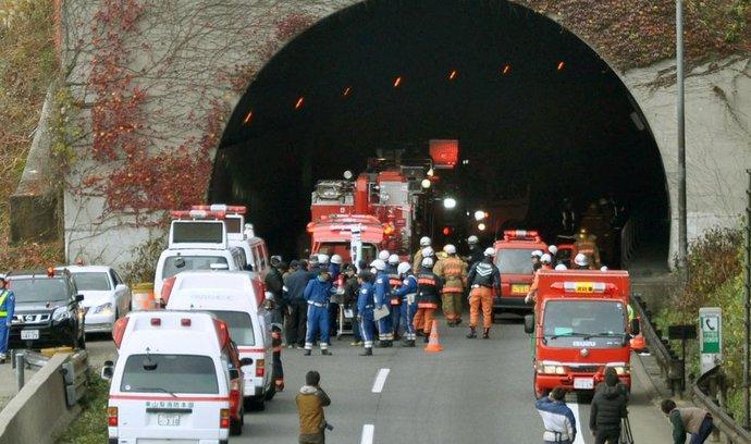 Tunel v Japonsku