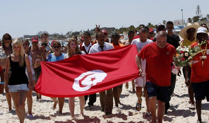 Tuniské letovisko po vražedném útoku teroristy