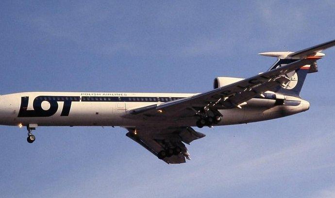Tupolev 154 polských aerolinek LOT