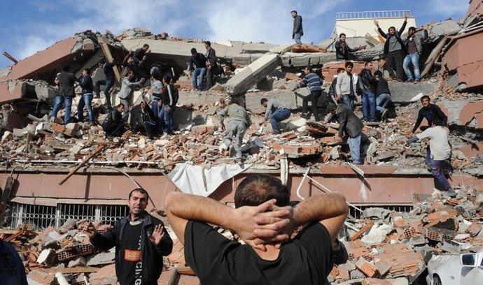 Turecko, zemětřesení