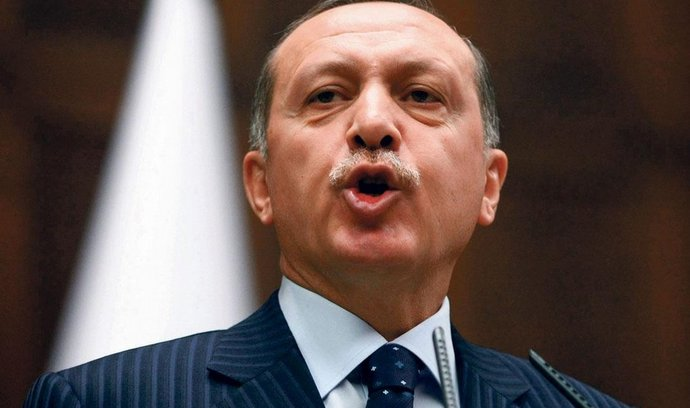 turecký premiér Recep Tayyip Erdoğan