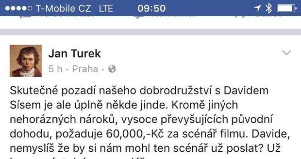 Statusy Jana Turka