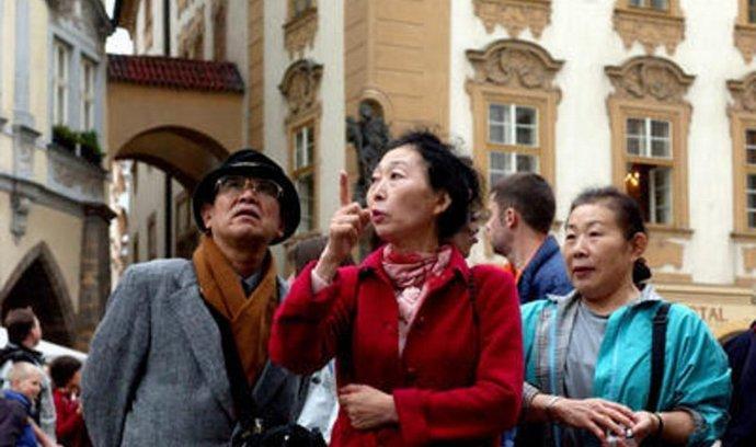 Turisté - ilustrační foto