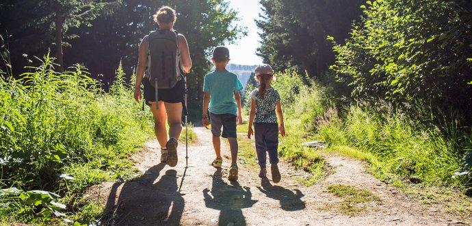 6 výšlapů, které zvládnou i děti
