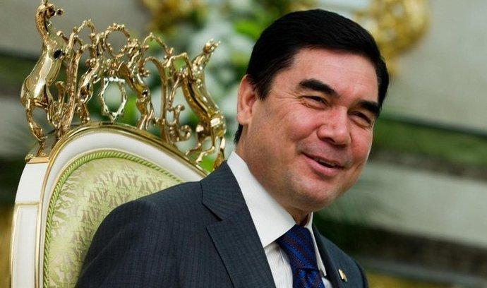 Turkménský prezident Gurbanguli Berdymuhamedov