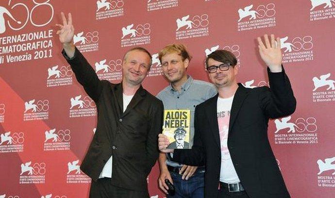 Tvůrci filmu: Jaromír Švejdík, Tomáš Luňák a Jaroslav Rudiš