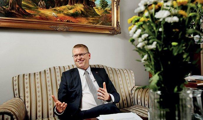 Předseda lidovců a vicepremiér pro vědu a výzkum Pavel Bělobrádek
