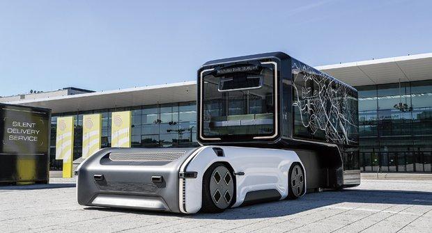 Městský Transformer U-Shift se promění na autobus nebo občerstvení