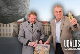 Jak v klidu podojit Hrad. Být kámošem Miloše Zemana je k nezaplacení!