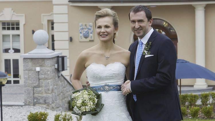 Jednu svatbu má Hofmann už za sebou. V Ulici si bral Michaelu Badinkovou.